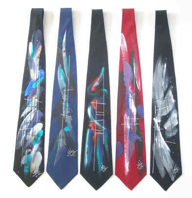 Click here to view Mitchel Rubin's quality hand-painted silk ties!